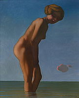Bather looked to the right, 1909, vallotton