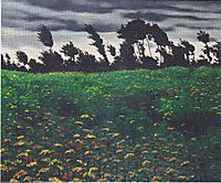 The blossomingfield, 1912, vallotton