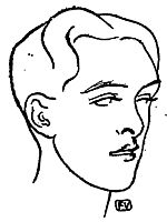British poet Alfred Douglas, 1896, vallotton
