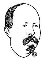 Bulgarian Prime Minister Stefan Stambolov, 1895, vallotton