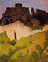 Chateau Gaillard at Andelys, 1924, vallotton