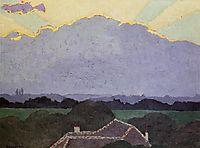 Cloud at Romanel, 1900, vallotton