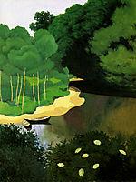 The Dordogne with Carrenac, 1925, vallotton
