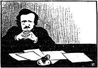 Edgar Allan Poe, 1895, vallotton