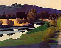 Evening on the Loire, 1923, vallotton
