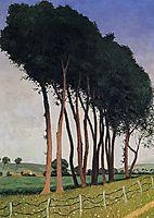 The Family of Trees, 1922, vallotton