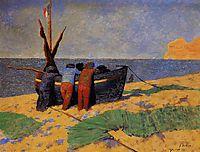The Fourteenth of July at Etretat, 1899, vallotton