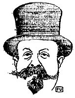 French writer Henry Gauthier Villars (aka Willy) (1859 1931) by Félix Valloton (1865 1925), 1896, vallotton