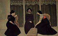 Gossip, 1902, vallotton