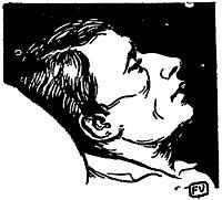 Italian poet and philosopher Giacomo Leopardi, 1895, vallotton