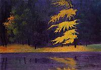 The Lake in the Bois de Boulogne, 1921, vallotton