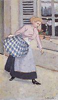 The Laundress, 1895, vallotton
