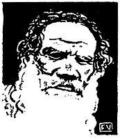 Leo Tolstoy, 1895, vallotton