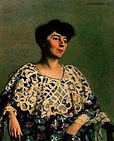 Marthe Mellot (wife of Alfred Natanson), 1906, vallotton