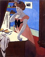 Misia at Her Dressing Table, 1898, vallotton
