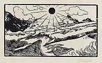 Mont Blanc, 1892, vallotton
