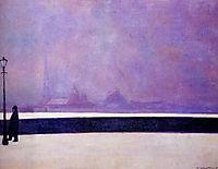 Neva, light fog, 1913, vallotton