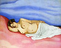 Nude in Bed, 1913, vallotton