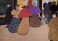 Passerby (also known as Street Scene), 1897, vallotton
