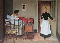 The Patient, 1892, vallotton