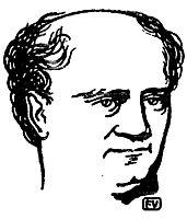 Polish philosopher Józef Hoene Wroński, 1897, vallotton