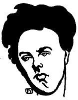 Portrait of Arthur Rimbaud , 1898, vallotton