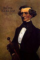 Portrait of Berlioz, 1902, vallotton