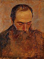 Portrait of Edouard Vuillard, 1893, vallotton