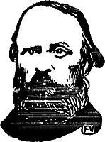 Portrait of Fortuné Henry, 1897, vallotton