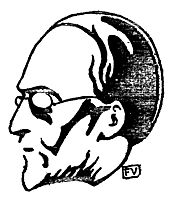 Portrait of French philosopher and historian Hippolyte Taine , 1897, vallotton