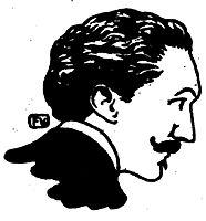Portrait of French poet and dandy Robert de Montesquiou , 1898, vallotton