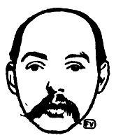 Portrait of French poet Francis Vielé Griffin , 1898, vallotton