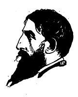 Portrait of French poet Jehan Rictus , 1898, vallotton
