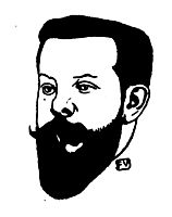 Portrait of French poet Pierre Quillard , 1896, vallotton