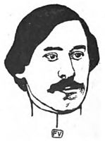 Portrait of French writer Paul Fort , 1898, vallotton