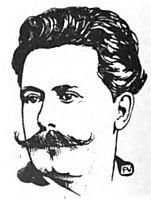 Portrait of French writer René Ghil , 1898, vallotton