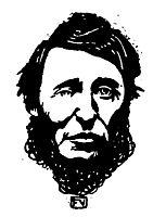 Portrait of Henry David Thoreau , 1896, vallotton