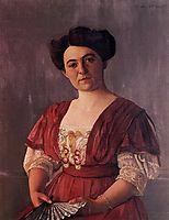 Portrait of Madame Hasen, 1908, vallotton