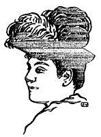 Portrait of Matilde Serao, 1891, vallotton
