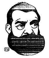 Portuguese poet João de Deus , 1895, vallotton