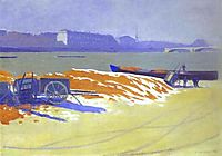 Red Sand and Snow, 1901, vallotton