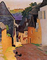 Rocamadour Landscape, 1925, vallotton
