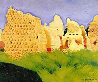 Ruins at Souain, Sunset, 1917, vallotton