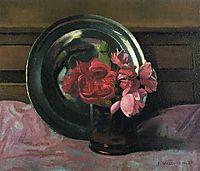 Still Life with Roses, 1920, vallotton