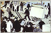 Street Scene, 1895, vallotton