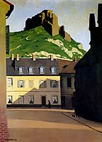 The Strong Castle and the place of Andelys, 1924, vallotton