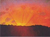 Sunset, 1910, vallotton