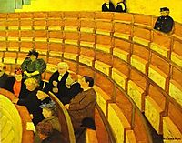 The Third Gallery at The Theatre, 1894, vallotton