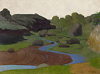 Vallon breton, 1917, vallotton