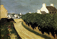 The Way to Locquirec, 1902, vallotton
